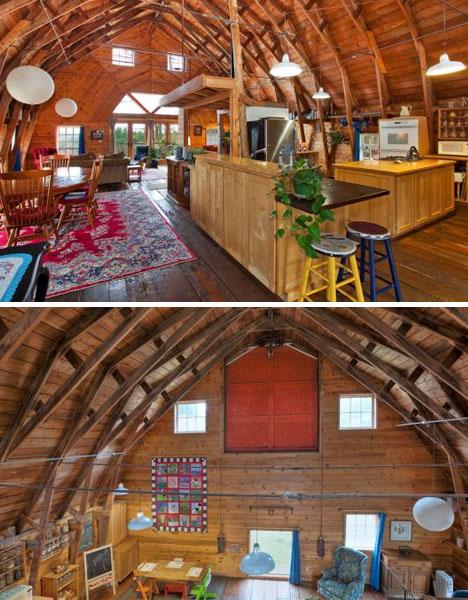 Barn Homes Layin Roots Mustaribrand