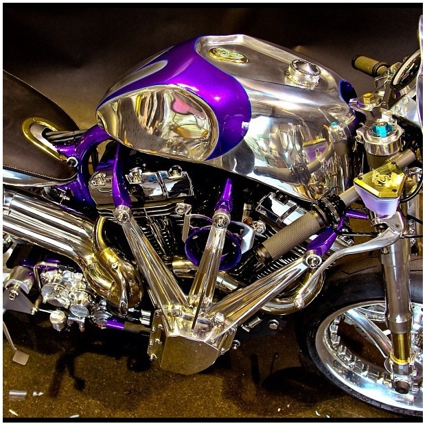 Jesse James 2012 Build-Off Bike Instagram