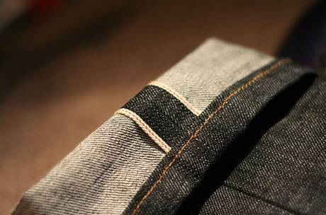 Selvedge Denim Cuff Jeans
