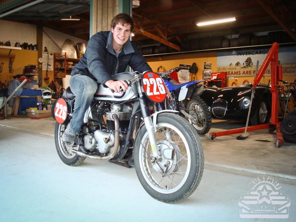 Norton Race Motorcycle