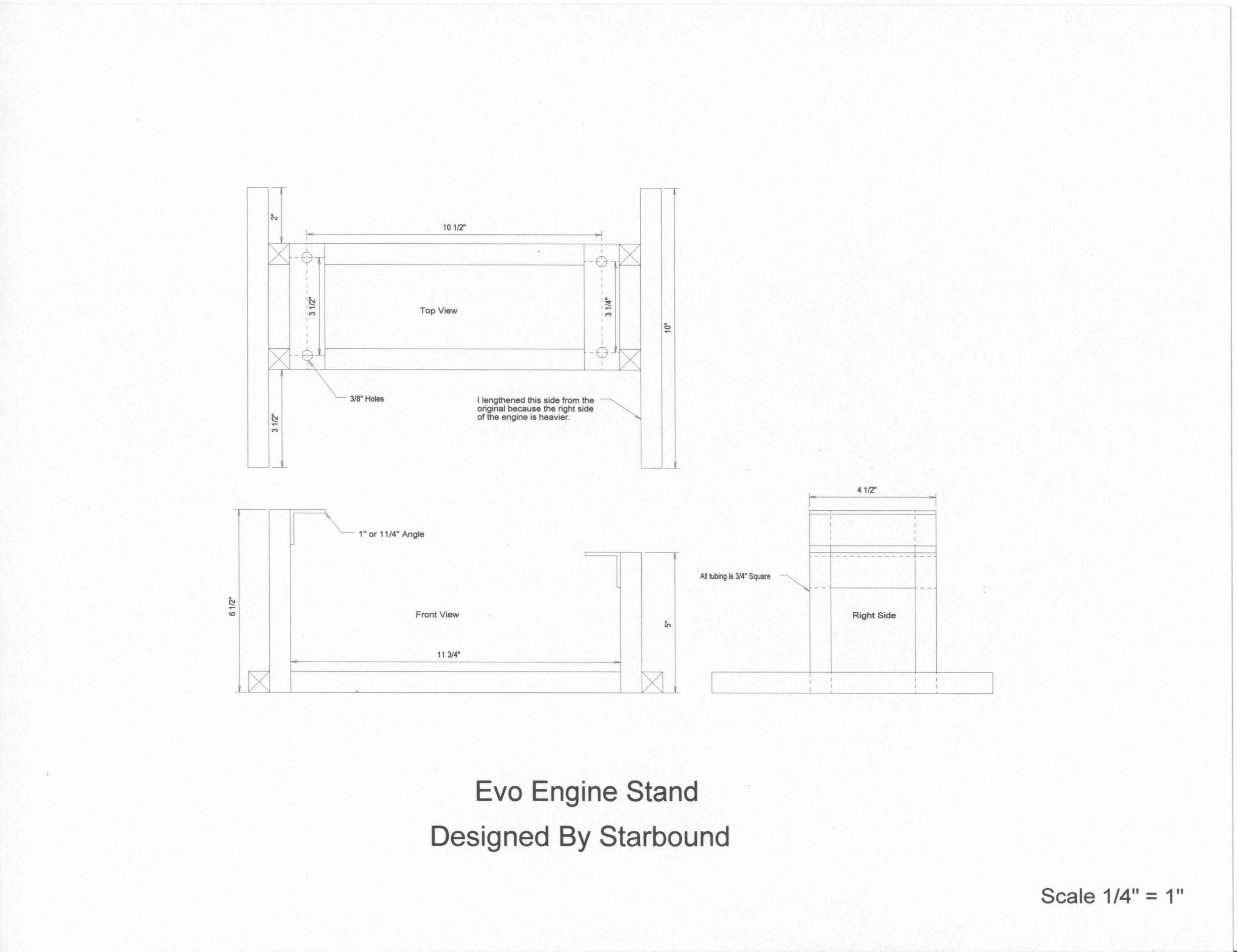 Plans for a harley motor stand mustaribrand harley motor engine stand plans pooptronica