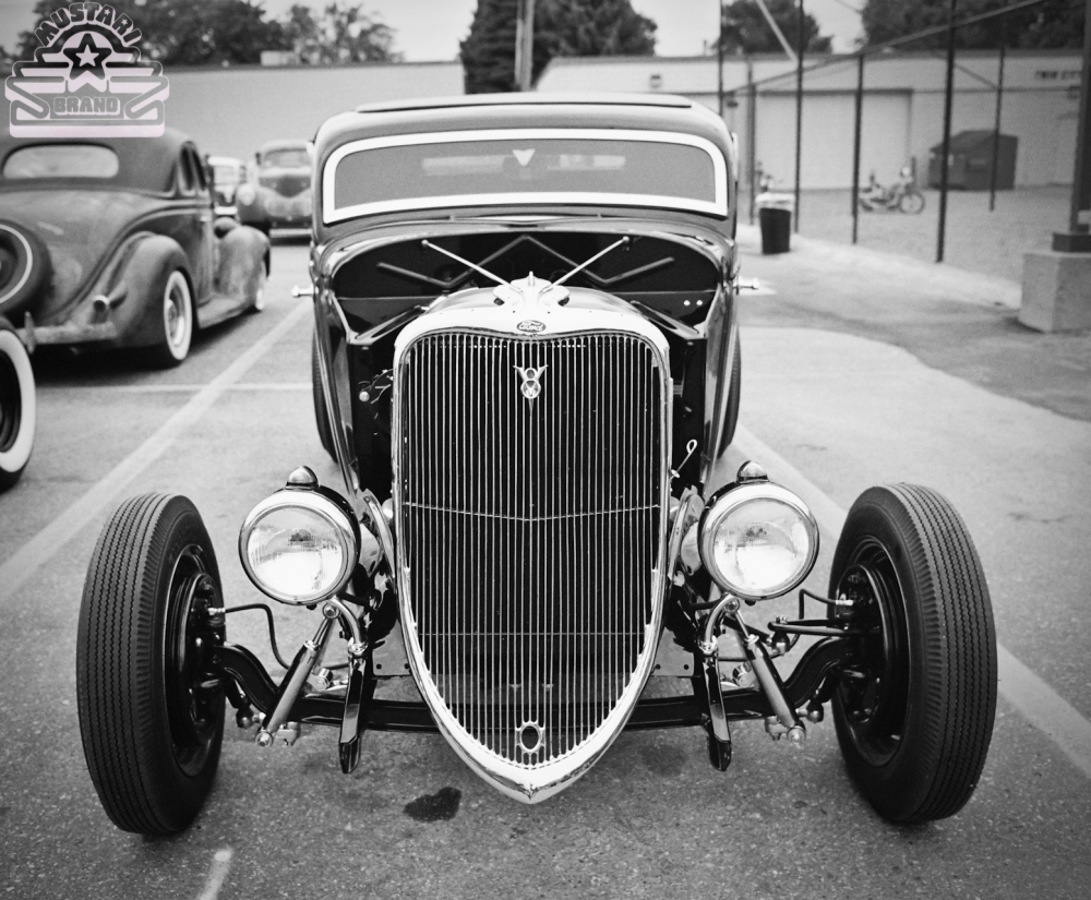 1932 Ford Deuce Coupe Chopped