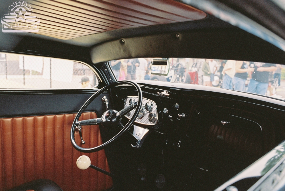 Chopped Deuce Coupe Interior