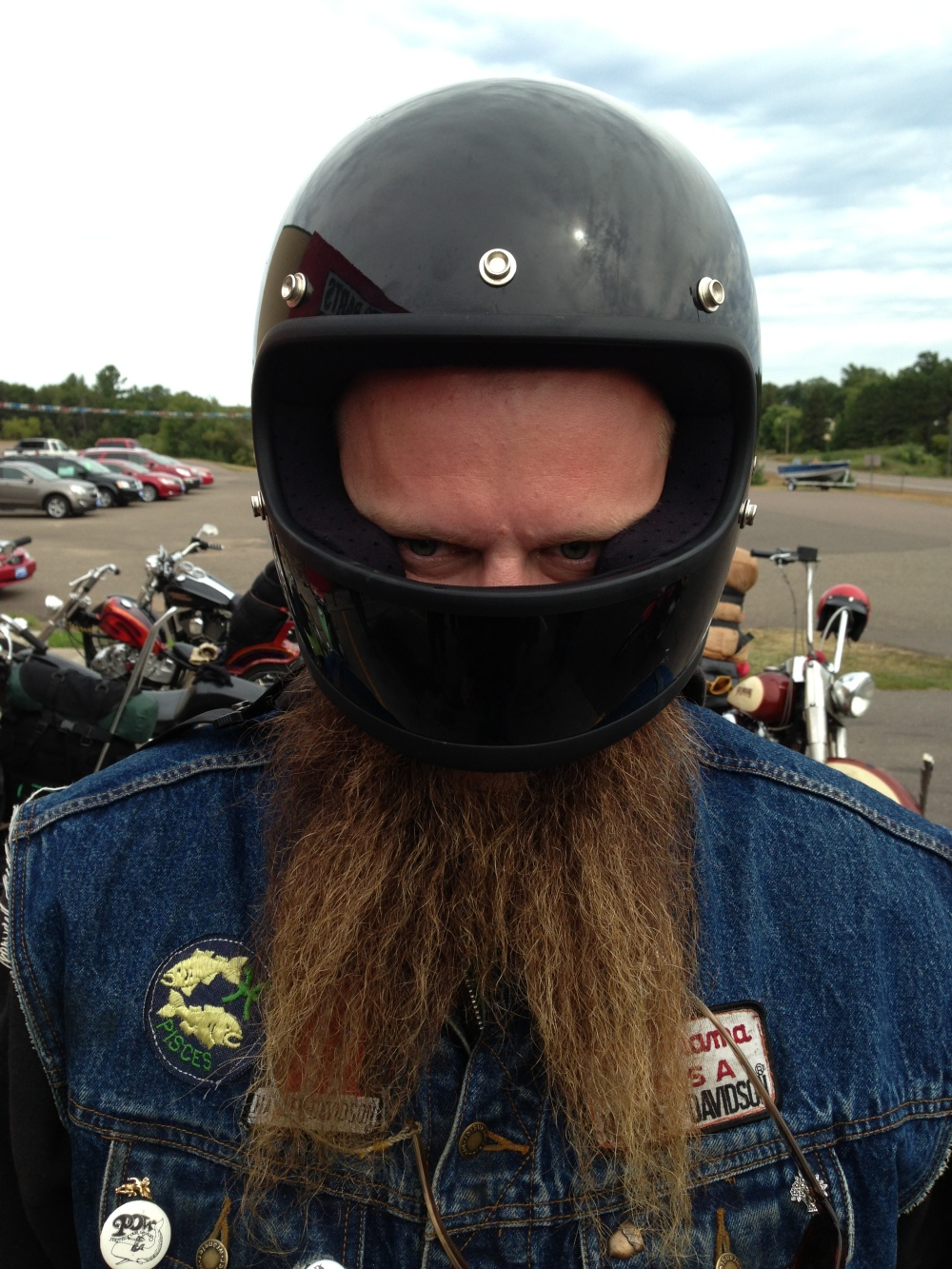 Beardo's Beardo Biltwell Helmet