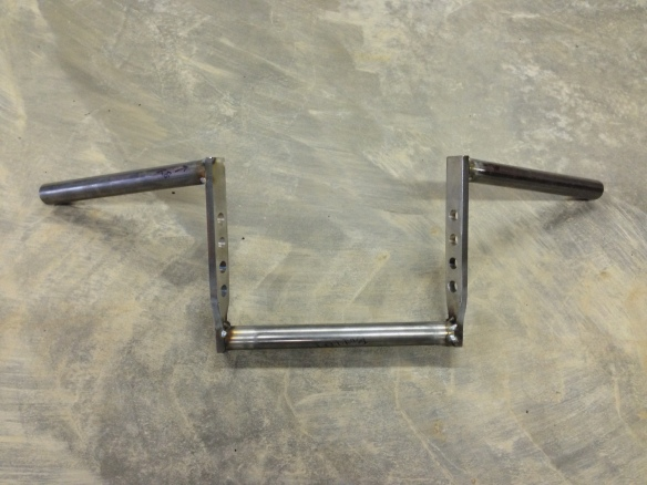 Here they are after being tack welded - next was grinding and then finishing TIG welds.