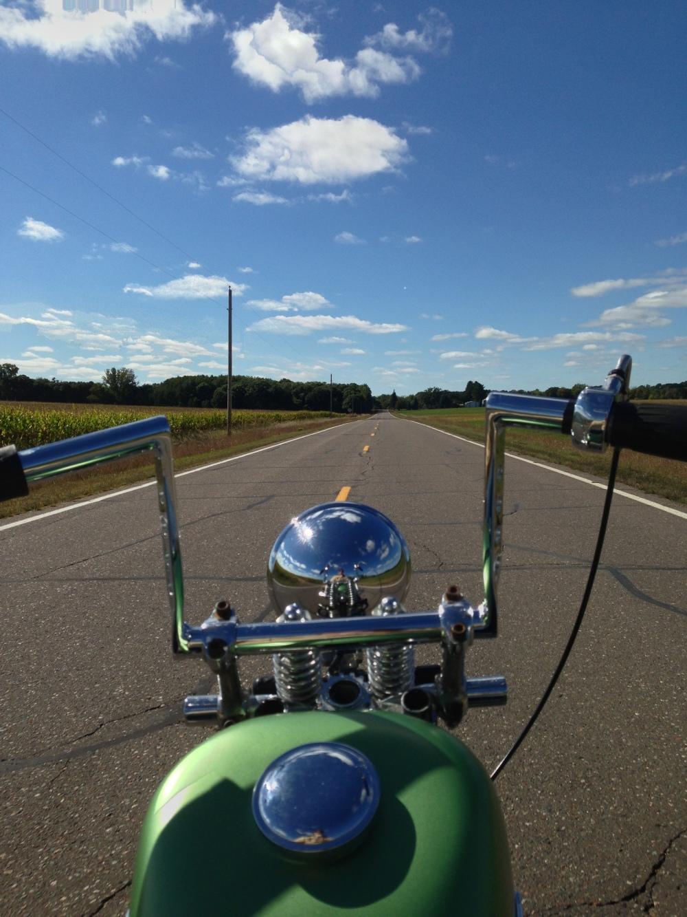 Harley Davidson Chopper Open Road