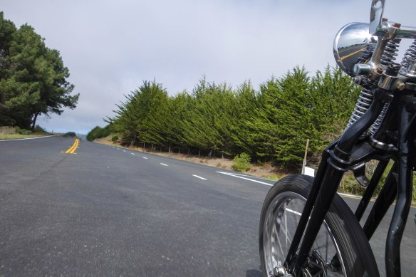 Hwy 1 getting close to Mendocino