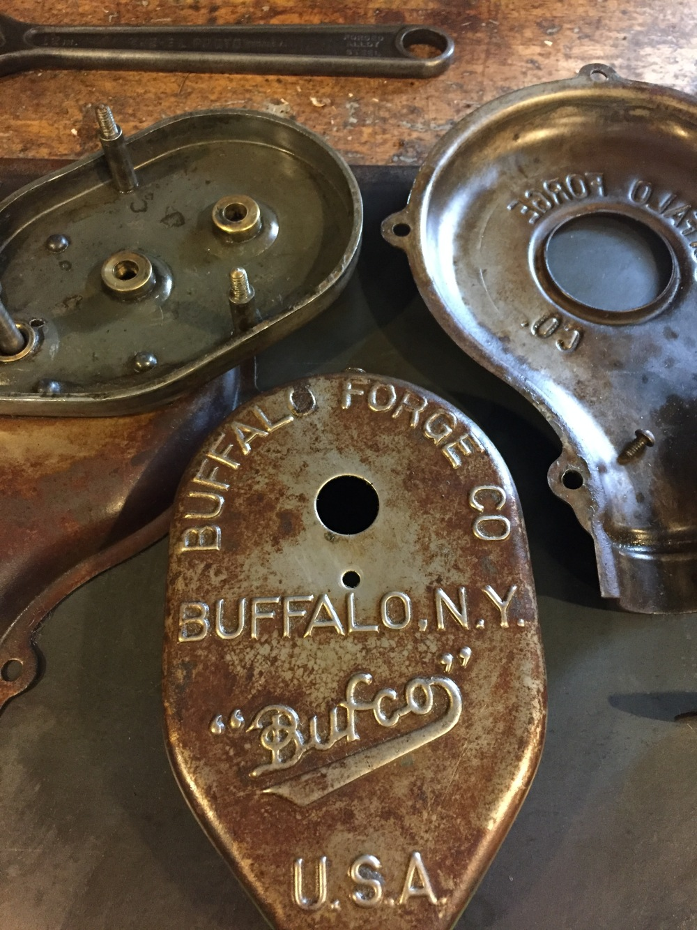 Buffalo Forge Co Blower Rebuild